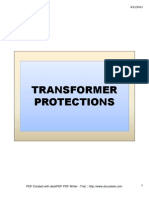 Transformer Protections