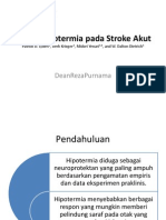 Terapi Hipotermia Pada Stroke Akut Jurnal