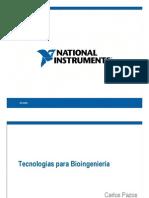 Tecnologias de Instrumentacion Para Bioingenieria