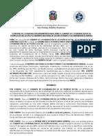 Convenio De Colaboración Interinstitucional Entre el GCPS e INAPA