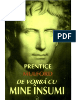 Prentice MULFORD- De Vorba Cu Mine Insumi