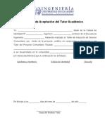 Carta Aceptacion Tutor
