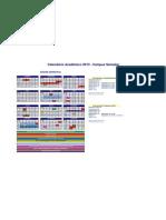 Calendário Acadêmico 2013 SEMESTRAL SSA_v2611