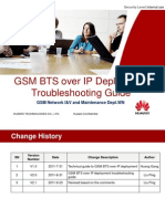 GSM BTS Over IP Deployment Troubleshooting Guide