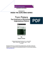 Business Summaries - Inside the Guru Mind - Tom Peters