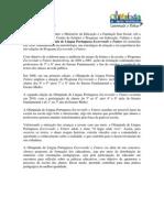 Regulamento Das Olimpiadas de Lingua Portuguesa