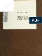 APPEAL TO THE JEWISH PEOPLE