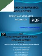 Personas Morales e Ingresos