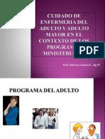 Cuidado de Enfermeria Del Adulto y Adulto Mayor Abril 2010