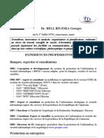 CV Dr BELL B Dernier