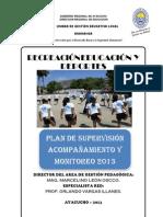 Plan de Supervision f Is