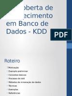 aula 2 - KDD e mineração de dados