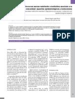 Staphylococcus aureus resistente a meticilina asociado a la comunidad aspectos epidemiológicos y moleculares [revisión] - An Fac Med