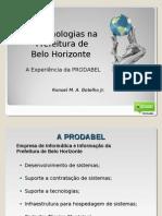 Geotecnologias na Prefeitura de Belo Horizonte