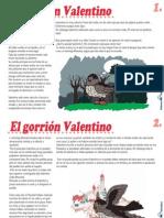 Cuento-El gorrión Valentino