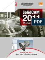 SolidCAM 2011 Mill Turn Training Course