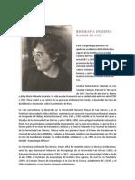 Biografía Josefina Ramos de Cox
