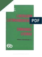 85772769 Enrique Dussel y Daniel E Guillot Liberacion Latinoamericana y Emmanuel Levinas