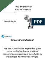 (Direito Empresarial I) Aulas 17 a 20 - 23mar13 - MF