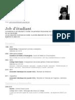 CV - Julien Arnould