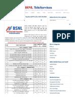 AP BSNL Prepaid Special Tariff Vouchers(STV's)