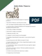 131 Curiosidades Sobre Números