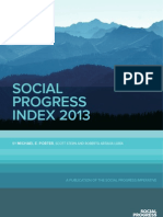 Social Progress Index 2013