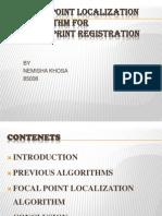 Fingerprint Registration