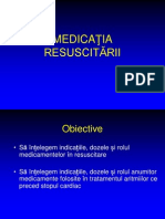 Medicatia resuscitarii
