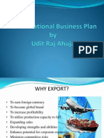 A International Business Plan