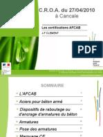 Les Certifications AFCAB Cle5ec193