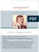 Ernest Rutherford Powerpoint