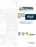 Fenwal 732™ Conventional Fire Alarm-Suppression Control Unit