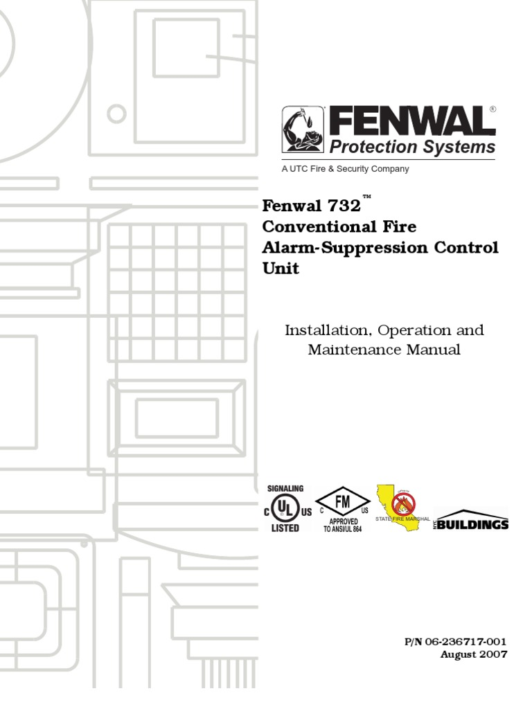 1510938388?v=1 fenwal 732™ conventional fire alarm suppression control unit fenwal heat detector wiring diagram at edmiracle.co