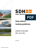 Solar District Heating Guidline