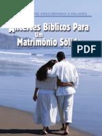 Alicerces Bíblicos Para Um Casamento Sólido