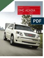 2012 Acadia Brochure