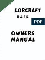 Taylorcraft Owners Manual BB12