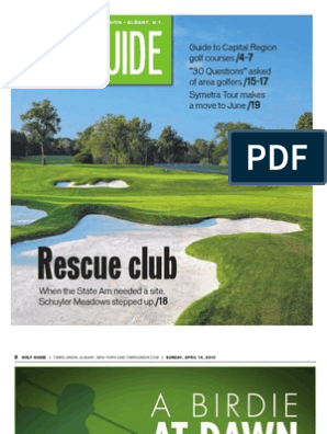 Golf Guide 2013 | Golf Course | Team Sports