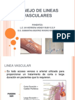 Manejo de Lineas Vasculares