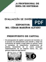 Sesión 14 - 15  Evaluación de Inversiones [Modo de compatibilidad]