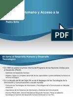 Desarrollo Humano Acceso Tecnologia