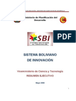Resumen Ejecutivo SBI