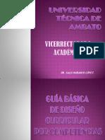 Guía básica diseño curricular