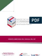 Versión abreviada del manual IGP