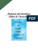 Chesterton, Gilbert Keith - Defensa del desatino.pdf