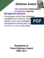 Edelman Awards