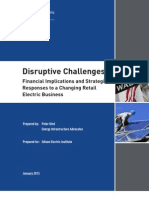 Disruptive Challenges: Financial Implications and Strategic Responses to a Changing Retail Electric Business