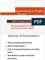 Corporate Governance SAFA Conference