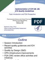 FDA ICH 8,9,10